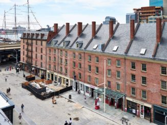 South Street Seaport Museum located in New York City.