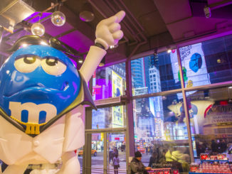 Inside M and M world new york