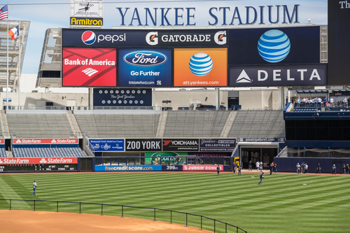 Yankee Stadium in New York City USA