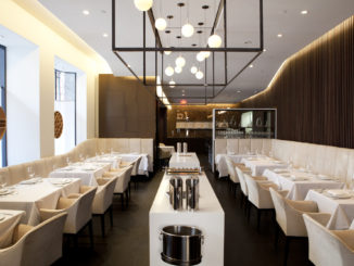 A look at the trendy interior of Jung Sik Restaurant New York
