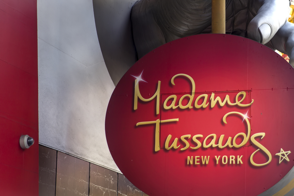 Madame Tussauds New York Sign