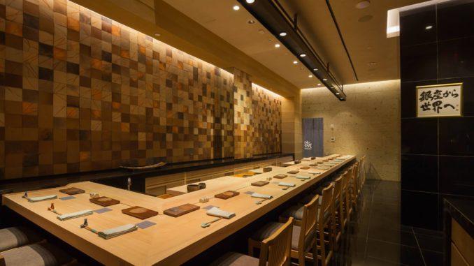 Inside Sushi Ginza Onodera New York