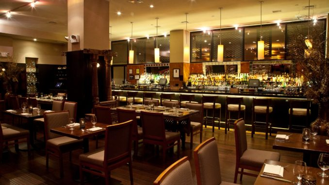Interior view of junoon restaurant new york