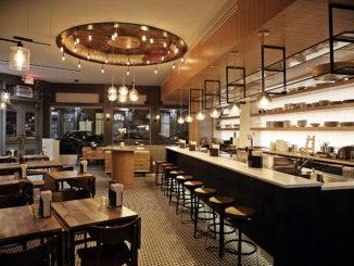 Inside Jeju Noodle Bar in New York