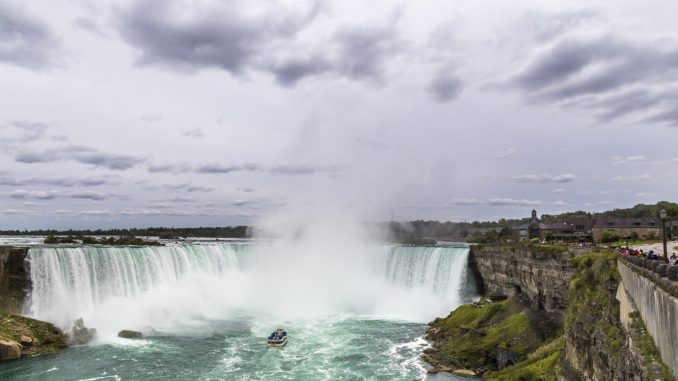 A stunning picture of Niagra Falls - Day trip from New York to Niagra Falls