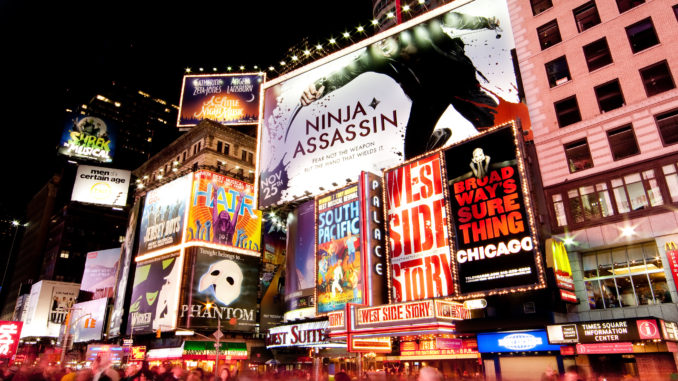 the famous bright lights of broadway - getting cheap Broadway tickets