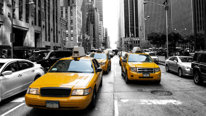 a-picture-of-new-york'-iconic-yellow-taxis-getting-from-jfk-to-manhattan